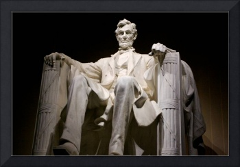The Lincoln Memorial in Washington, D.C., at night
