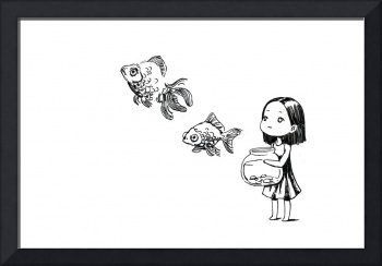 Girl and the Fish