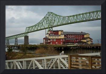 Bridge in Astoria Oregon color