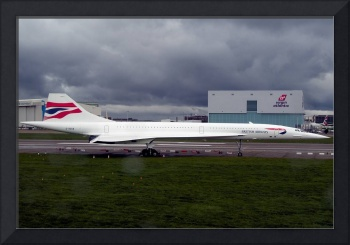 Concorde Even The Skies Were Crying, G-BOAB