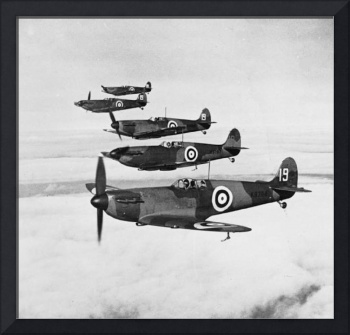 Supermarine Spitfire Formation