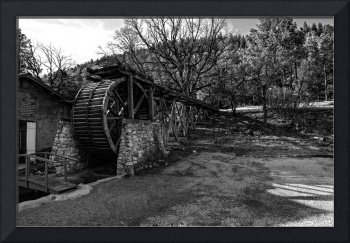 old mill bw