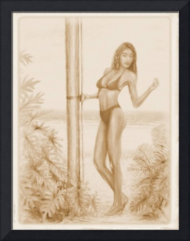Shower on the Beach (Vintage)