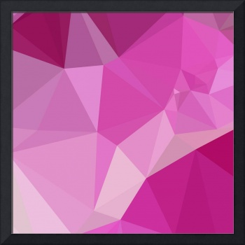 Fashion Fuchsia Pink Abstract Low Polygon Backgrou