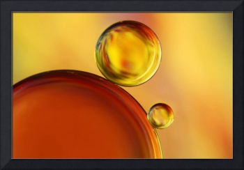 Abstract Oil Drops