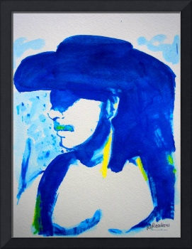 The Color Blue by RD Riccoboni