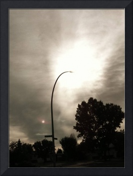 Street Lamp with Sunflare