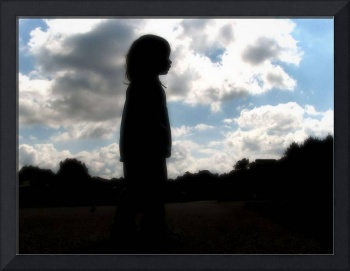 silhouette of youth