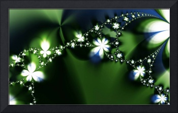 Engaging Beautiful Floral Fractal