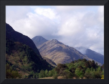 Mountains near Loch Shiel