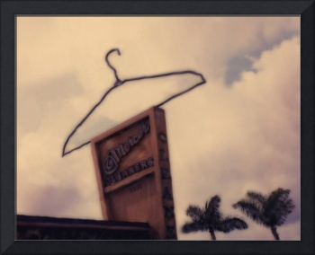 Metal Sign with Hanger, Ft Lauderdale FL