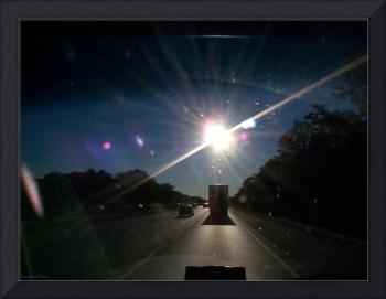 Sun In The Eyes While Driving