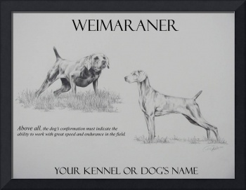 (Personalized) Dual Weimaraners