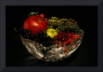 Light Painting Fruit Bowl