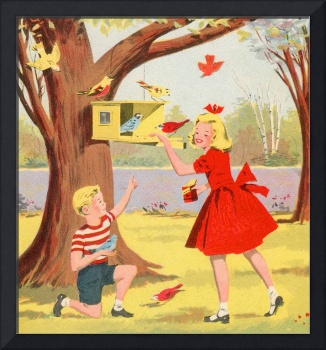 Fun with Birds, 1953 booklet, artist unattributed