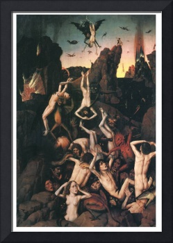 Descent into Hell (detail) by Dieric Bouts