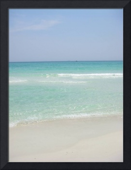 beach photo art print picture