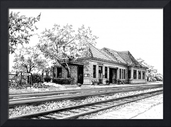 Hinsdale Train Station