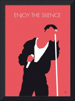 No242 MY Depeche Mode Minimal Music poster