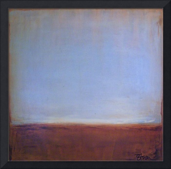 Soft Sheen Horizon Abstract