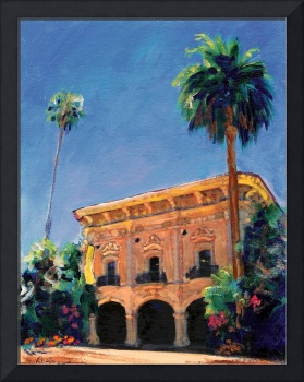 Casa de Balboa painted by RD Riccoboni
