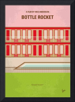 No855 My Bottle Rocket minimal movie poster