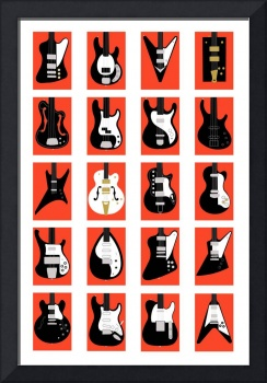 The Classic Electric Guitar Gallery