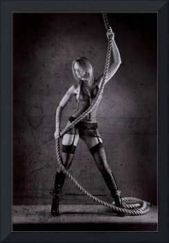 Lingerie and Rope with texture.