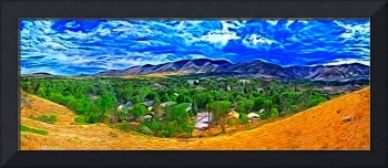 Golden CO in Photo Paint