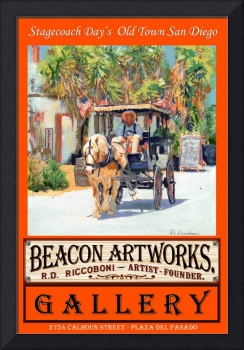 Stagecoach Days Beacon Artworks