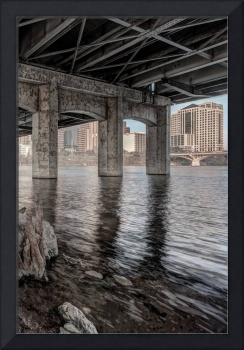 Beneath 1st Street Bridge, Austin
