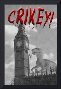 CRIKEY! Dinosaur attacks London