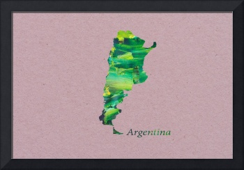 Artistic Map of Argentina