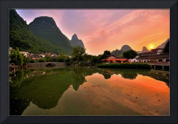 Karst Sunset