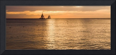 Sails In the Sunset Aruba