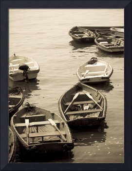 Fishing Boats On The Water