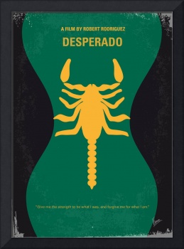 No021 My Desperado minimal movie poster