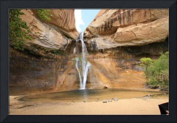 Lower Calf Creek Waterfall