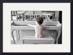 Baby at Piano by Christopher Seufert