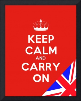 Keep Calm And Carry On, Motivational Poster 6