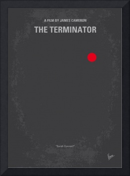 No199 My Terminator minimal movie poster