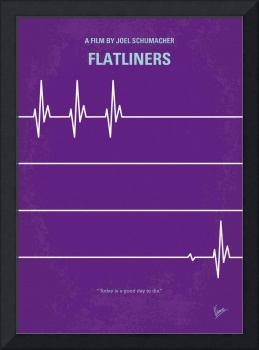 No841 My FLATLINERS minimal movie poster