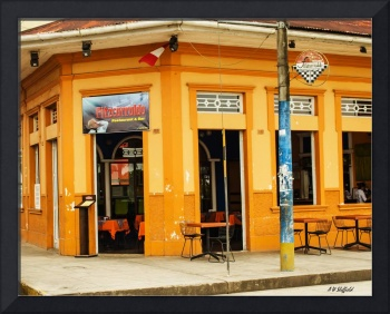 Fitzcarraldo Cafe in Iquitos