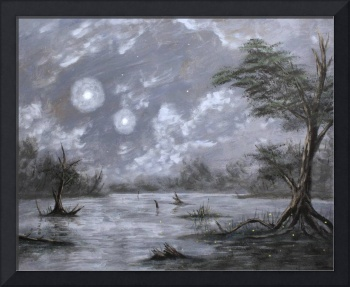 moonlit swamp