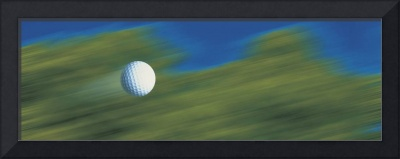 Traveling golf ball