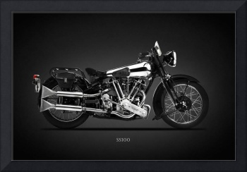 The SS100 Vintage Motorcycle