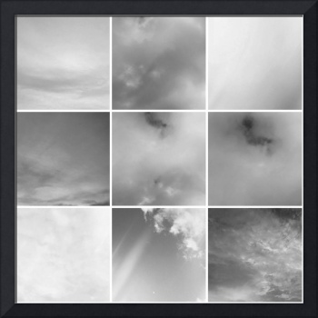 Sky - In Black and White