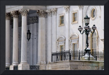 Capitol Lamppost and Columns