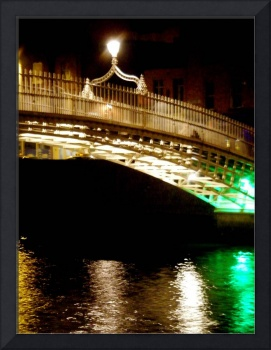Halfpenny bridge, Dublin, Ireland