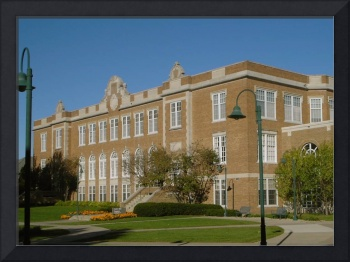 Luther Hall at Wartburg College